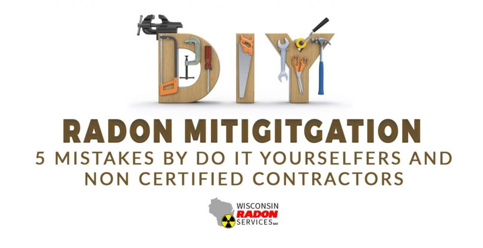 "Radon Mediation Installation Mistakes we have seen by ""Do It Yourselfers"""